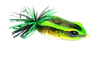 Link to more information on the Killer Frog Poison Dart Frog fishing lure